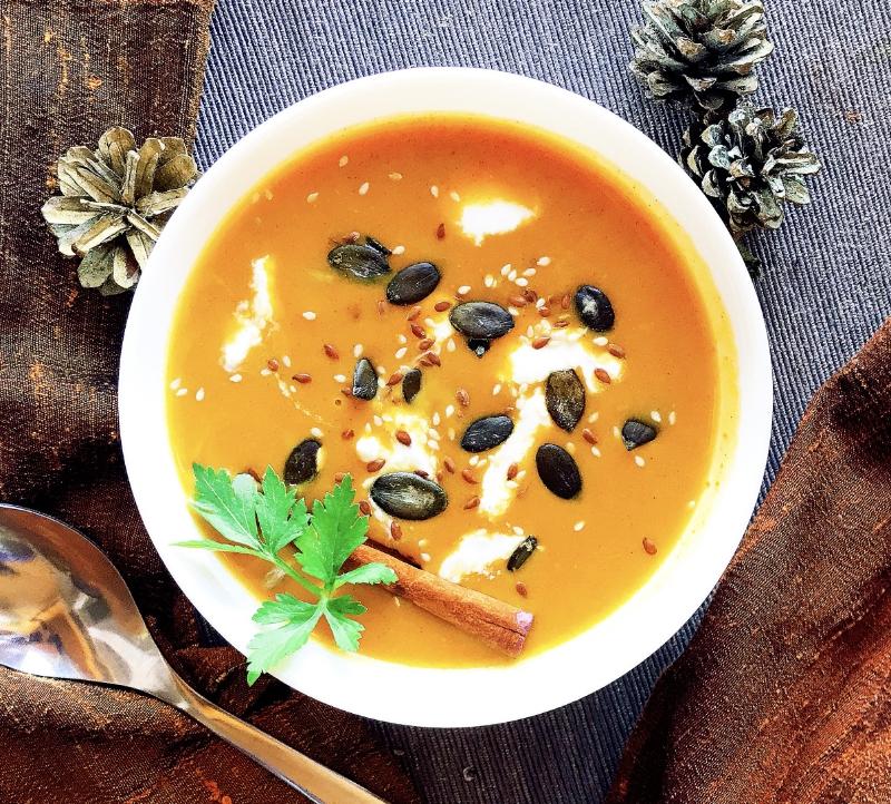 aromatična juha od buče