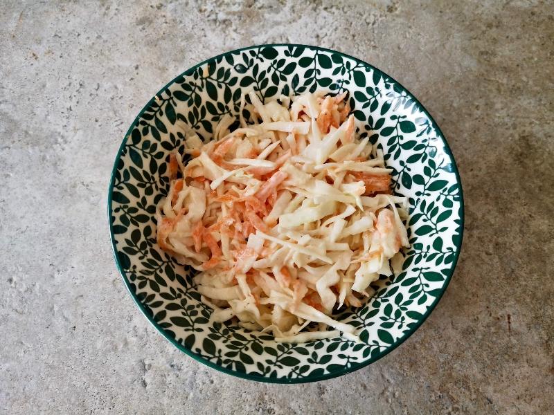 Salata od mrkve i kupusa