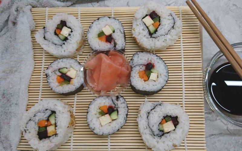 veganski sushi