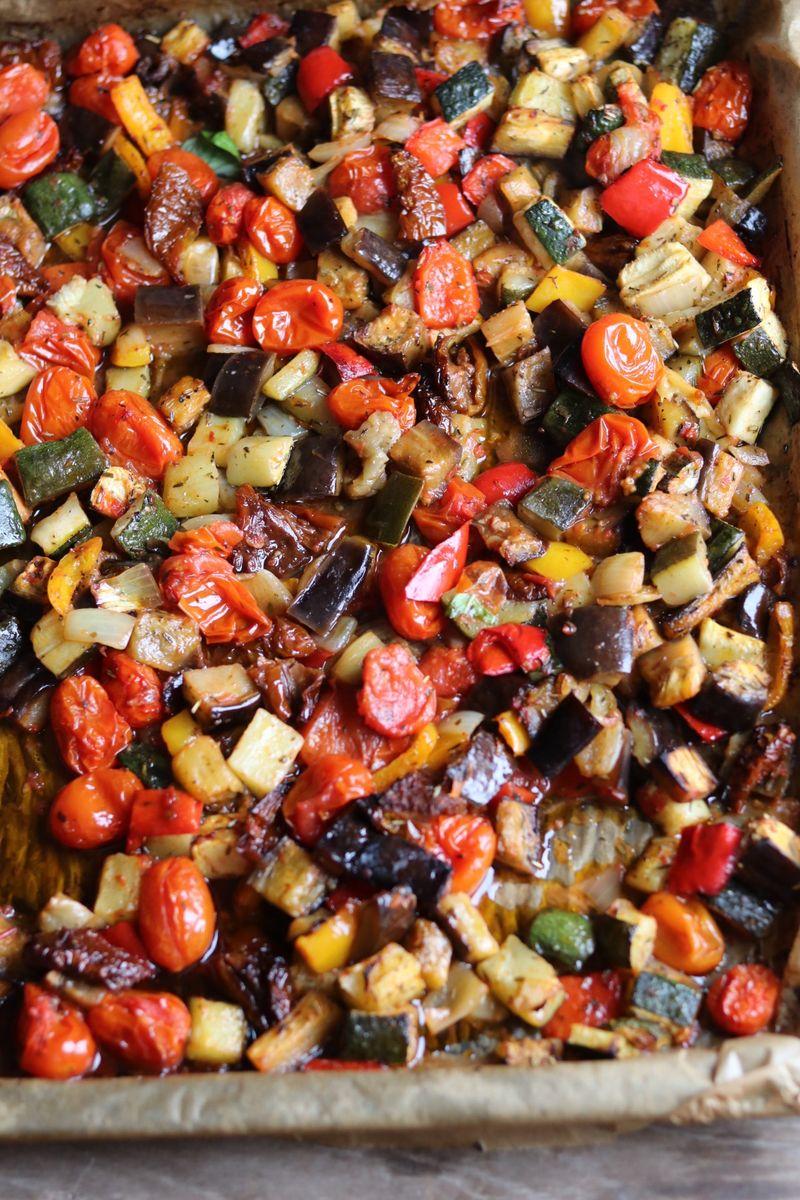 pečeno povrće za ratatouille