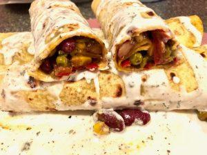 vegetarijanske tortilje s povrćem